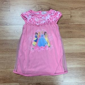 Disney Princess Toddler Girl Night Gown Sleepwear